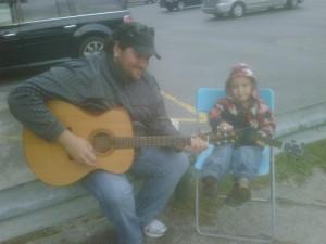 Jammin at the Appletree Farm Market, September 2010!